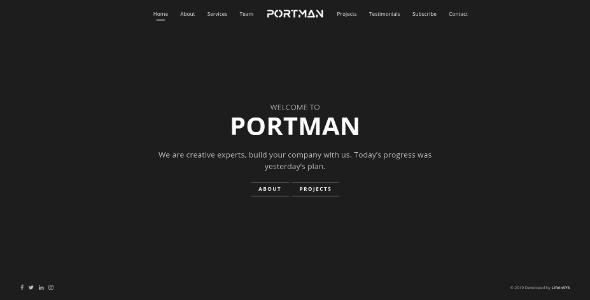 portman dark
