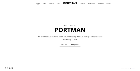 portman light